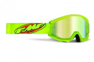 FMF GOGLE POWERCORE CORE YELLOW  SZYBA MIRROR GOLD