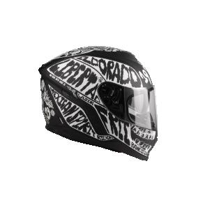 LAZER Kask Motocyklowy RAFALE Mexicana czarny fluo