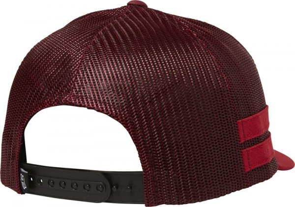 FOX CZAPKA Z DAS. LADY HEAD TRIK TRUCKER CRANBERRY
