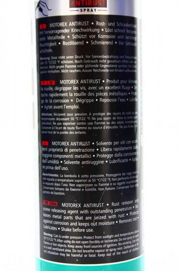 Motorex Antirust Spray 500ml