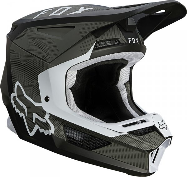 FOX KASK OFF-ROAD V-2 SPEYER BLACK