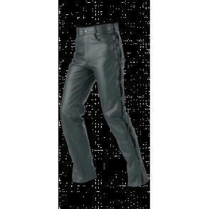 BUSE Spodnie motocyk. skórzane  Schnurjeans czarne