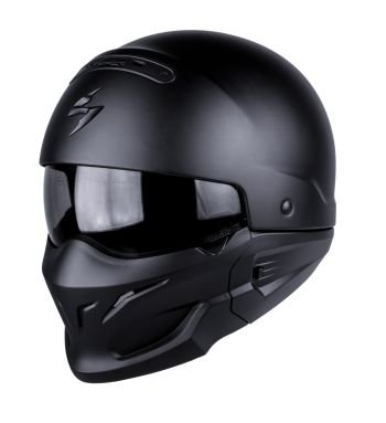 SCORPION KASK EXO-COMBAT MATT BLACK