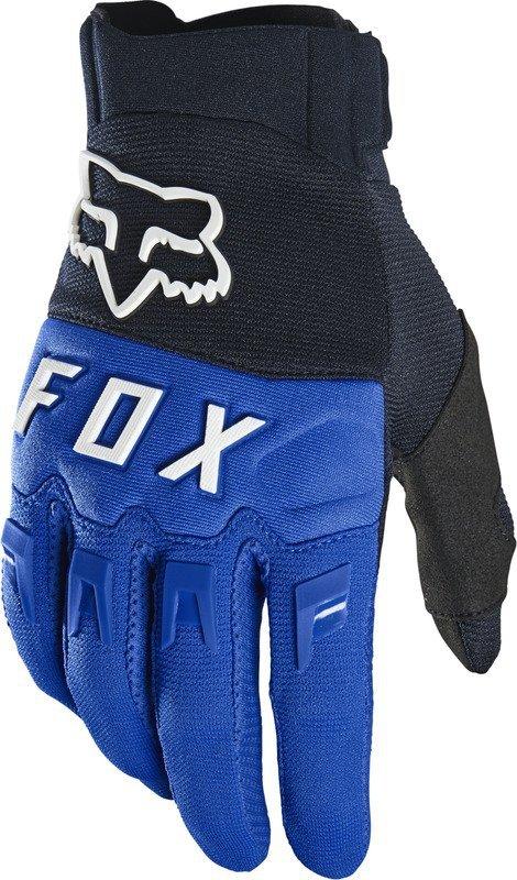 FOX RĘKAWICE OFF-ROAD DIRTPAW BLUE