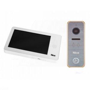 PRO WG - Zestaw wideodomofonowy z dotykowym ekranem dla domu jednorodzinnego.