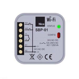 Nice Wi-Fi - moduł Wi-Fi SBP-01 do zdalnego zarządzania automatyką domową i innymi urządzeniami