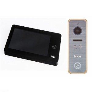 PRO BG - Zestaw wideodomofonowy z dotykowym ekranem dla domu jednorodzinnego.