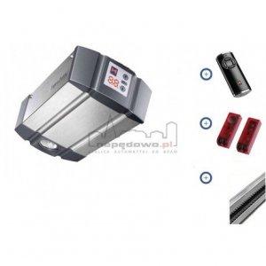 Zestaw Hormann:  napęd SupraMatic P seria 3 BiSecur (siła 1000 N, do 15 m2) + szyna + pilot HS 5 BS + fotokomórki EL 101