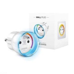 WALL PLUG FGWPE-102 - włącznik w formie wtyczki do gniazdka, z pomiarem zużycia energii elektrycznej
