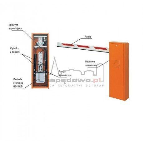 Zestaw 620 STD z ramieniem prostokątnym 5 m