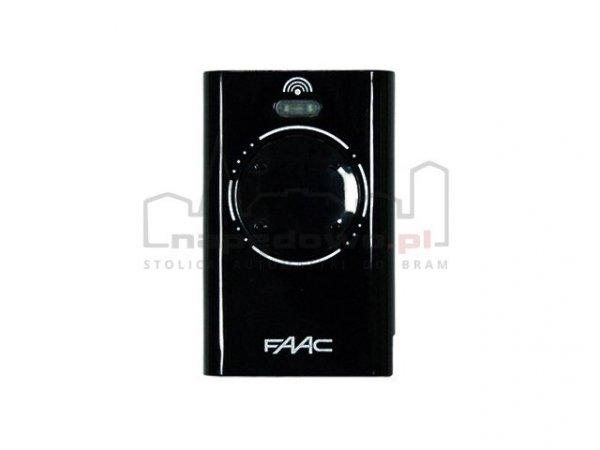 Pilot FAAC 4-kanałowy XT4 433 MHz RC czarny