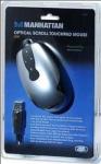 Mysz MANHATTAN Scroll TOUCHPAD USB 800dpi