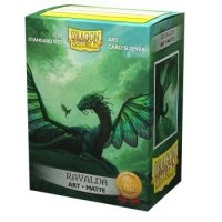 Koszulki Dragon Shield Matte Art Sleeves - Rayalda (100 Sleeves)