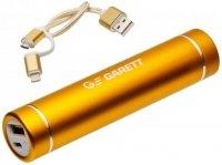 Powerbank Garett Power 2600mAh złoty