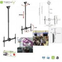 Uchwyt sufitowy Techly LCD/LED 37-70 czarny