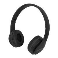 Słuchawki z mikrofonem Esperanza Banjo bluetooth czarne