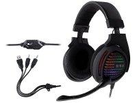 Słuchawki z mikrofonem Tracer GAMEZONE Aligator RGB rainbow LED