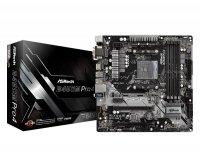 Płyta ASRock B450M Pro4 /AMD B450/4xDDR4/SATA3/M.<br />2/USB3.0/PCIe3.0/AM4<br />/mATX