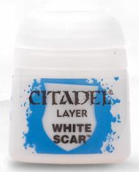 Farba Citadel Layer: White Scar 12ml