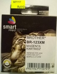 BROTHER LC123 MAGENTA    smart PRINT