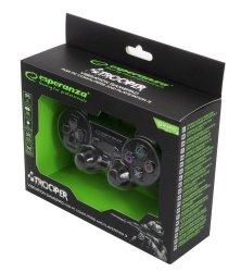 Gamepad PS3/PC USB Esperanza Trooper czarny