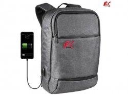 Plecak antykradzieżowy NanoRS RS915 S notebook 15,6, tablet, port USB do ładowania telefonu, szary