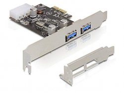 Kontroler Delock PCI Express - USB 3.0 2-port