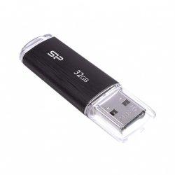 Silicon Power Pamięć USB Ultima U02 32GB USB 2.0 Czarna