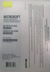 Windows 7 PRO Refurbisher do Vista Business SP1 64-bit Polish OEM - PN 66J-05643