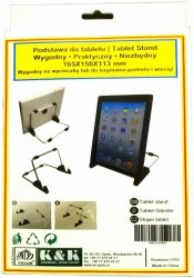 Podstawka/stojak do iPad  165x150x113