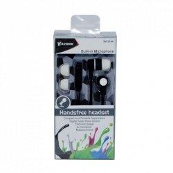 VAKOSS Słuchawki douszne stereo z mikrof./ regulacja głośności SK-214