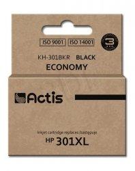 Tusz Actis KH-301BKR (do drukarki Hewlett Packard, zamiennik HP 301XL CH563EE standard 15ml czarny)