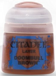 Farba Citadel Layer - Doombull Brown 12ml