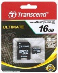 Transcend karta pamięci Micro SDHC 32GB Class 10 UHS-I PREMIUM + adapter SD