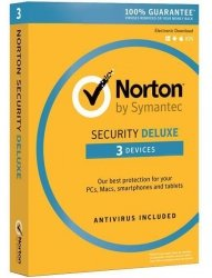 NORTON SECURITY DELUXE 3.0 PL 1 USER 3 DEVICES 12MO CARD MM