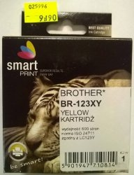 BROTHER LC123 YELLOW     smart PRINT