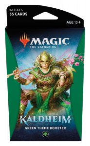 MTG - Kaldheim - Green Theme Booster