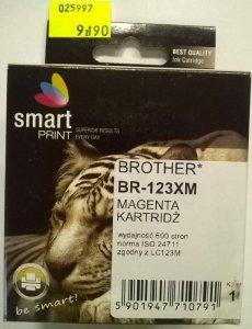 BROTHER LC123 MAGENTA    smart PRINT