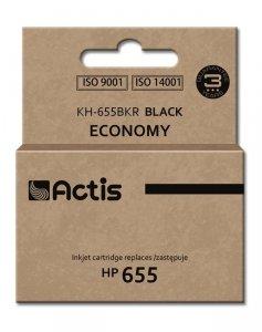 Tusz ACTIS KH-655BKR (zamiennik HP 655 CZ109AE; 20 ml; czarny)