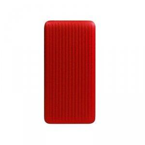 Powerbank Silicon Power QP66 10000mAh 1x USB-C, 1x USB-A, szkarłatna czerwień