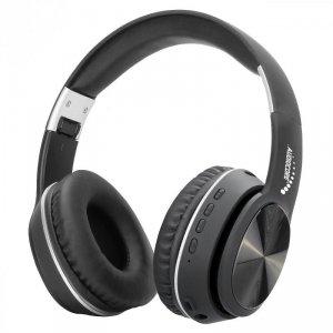 Słuchawki z mikrofonem Audiocore AC705 nauszne bluetooth V5.0 +EDR czarne
