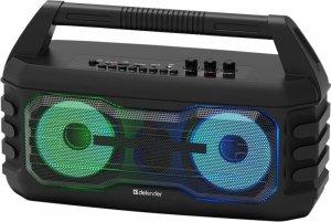 Głośnik Defender G106 Bluetooth 14W MP3/FM/SD/USB/TWS/LED czarny