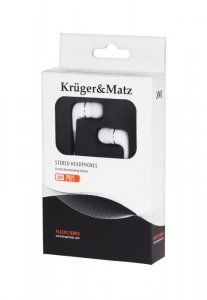 Słuchawki Kruger&Matz KMP01 białe