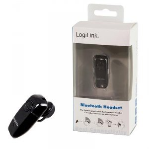 Słuchawka bluetooth LogiLink BT0005 V2.0+EDR czarna