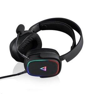 Słuchawki z mikrofonem Modecom MC-899 PROMETHEUS Gaming, czarne