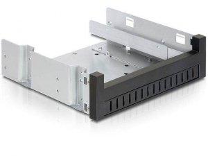 Adapter Delock HDD Ramka 5,25->3,5&2,5 Czarny