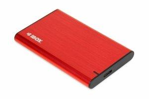Obudowa na dysk iBOX HD-05 2.5 USB 3.1 gen.1 Red