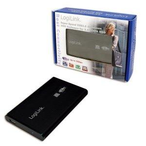 Obudowa na dysk LogiLink UA0106 2.5 SATA USB 3.0, czarna