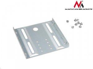 Adapter redukcja HDD/SSD Maclean MC-655 sanki szyna 3,5 na 2,5 metalowy