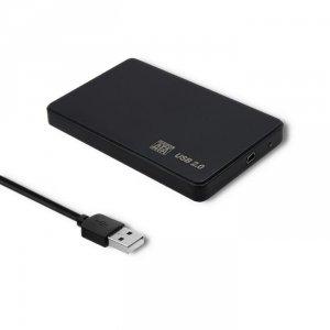 Obudowa Qoltec na dysk HDD/SSD 2.5 SATA3 | USB 2.0 | Czarna